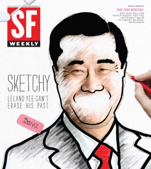 SF Weekly Cover Leland Yee 300x336 SF Weekly: SF Mayoral Candidate Leland Yee Cant Erase His Past