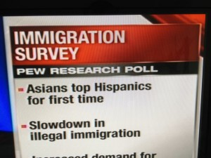 """Asians Tops Hispanic For the First Time"" Graphic Accurate, but Pretty Damn Funny"