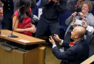 New Garden Grove Councilman Celebrates Swearing in with a Marriage Proposal