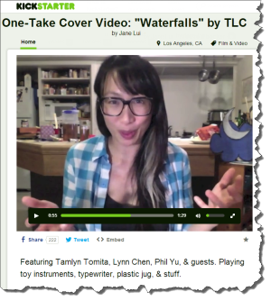 "8$: Jane Lui, One-Take Cover Video: ""Waterfalls"" by TLC"