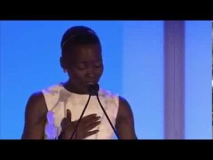 12 Years a Slave's Lupita Nyong'o Thoughts on Beauty