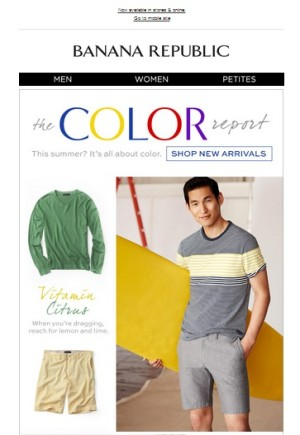 In My Inbox: Asian American Ad Watch: Banana Republic